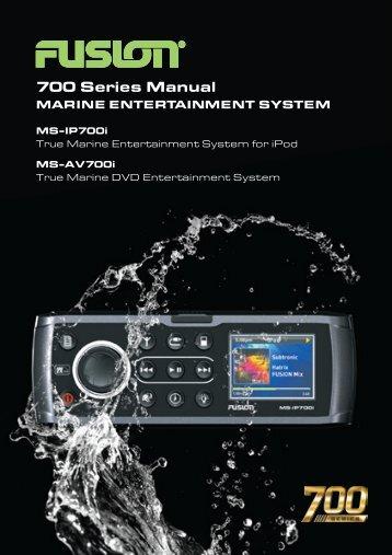 700 Series Manual - Fusion