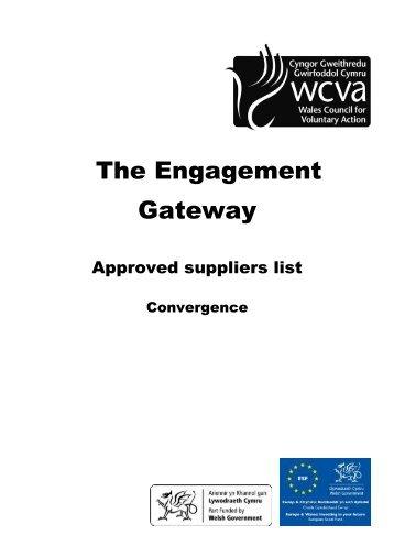 The Engagement Gateway - WCVA