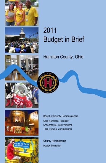 2011 Budget in Brief - Hamilton County, Ohio