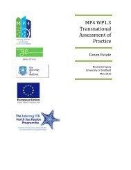 Green Estate - Interreg IVB North Sea Region Programme