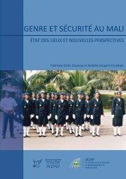 2011 Genre et sécurité au Mali - ISSAT - DCAF