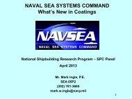 NAVSEA Update - NSRP