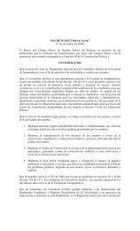 Reglamento del Consultorio Jurídico - Universidad del Rosario