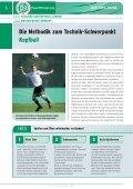 Spielend den Kopfball lernen - Seite 6