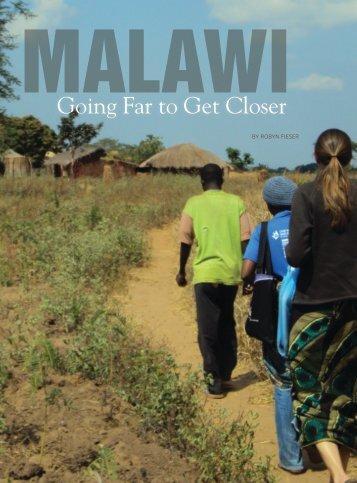Maryland Magazine (2012) Article - Global Health Initiatives