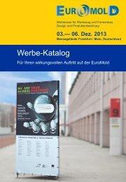 Download Werbe-Katalog 2013 - EuroMold