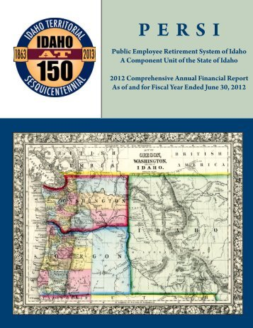 Annual Report 2012 - Entire Report - PERSI - Idaho.gov