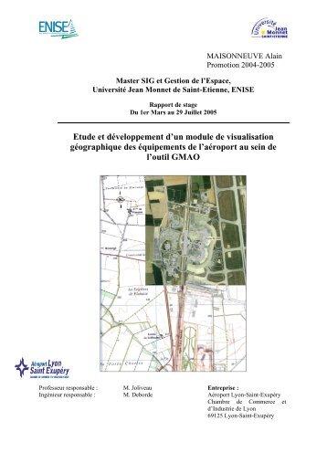 Etude et développement d'un module de visualisation géographique ...