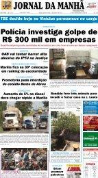 Polícia investiga golpe de R$ 300 mil em empresas