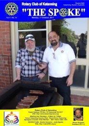 Vol 7-15-Oct 17 - Katanning Rotary Club