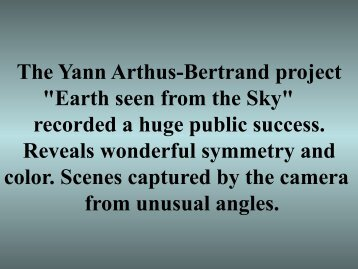 Earth seen from the Sky - Rense