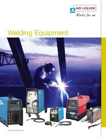 Welding Equipment - BLUESHIELD