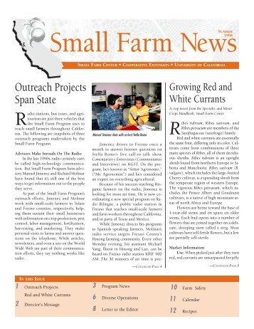PDF Version - University of California Small Farm Program - UC Davis