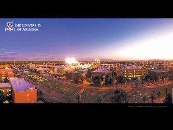 Student Affairs Presentation - advise.web.arizona.edu - University of ...
