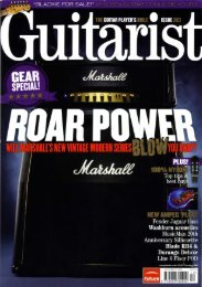 Read the review in Guitarist - Ampeg