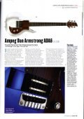 Read the review in Guitarist - Ampeg - Page 3