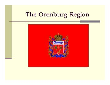 The Orenburg Region