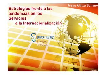 C.1 Estrategias frente a las tendencias en servicios de ...