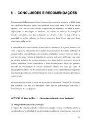 6 - CONCLUSÕES E RECOMENDAÇÕES - sigrh