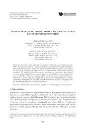 Offline signature verification and identification using ... - ResearchGate