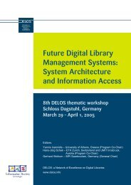 Future Digital Library Management Systems: System ... - DBIS