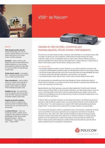 76748fe4c Videoconferencia Polycom V 500 IP - RDSI