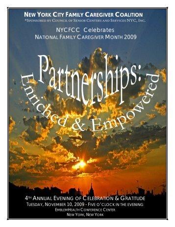 Complete Journal 2009 (PDF) - National Alliance for Caregiving