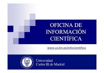 La divulgación científica en la Universidad Carlos III