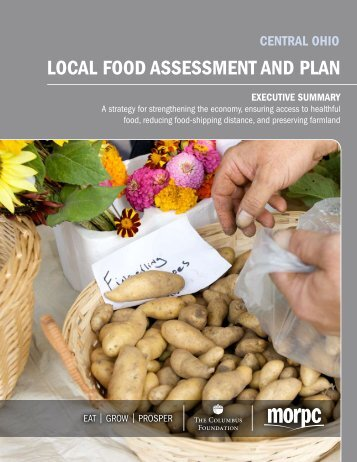 local food assessment and plan - Mid-Ohio Regional Planning ...