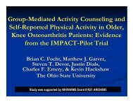 Group-Mediated Activity Counseling and Self-Reported Physical ...