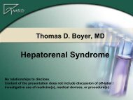 Medical Treatment of Hepatorenal Syndrome - AASLD