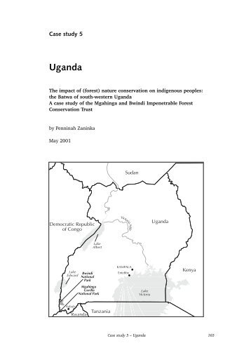 Case Study 5: Uganda - Forest Peoples Programme