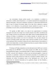 La desinformocracia - Cholonautas