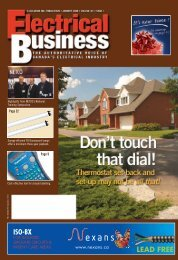 ISO-BX LEAD FREE - Electrical Business Magazine