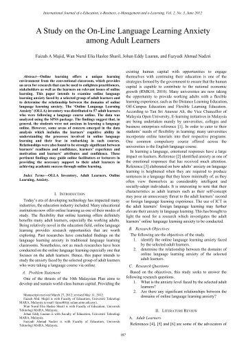anxiety in speaking second language Abstract this study investigated the links between second language classroom anxiety and second language writing anxiety as well as their associations with second language speaking and writing achievement.