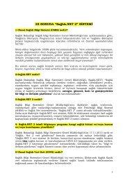 """Sağlık.NET 2"""" sistemi"""" - İstanbul Tabip Odası"""