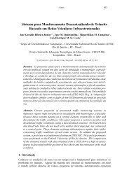 Sistema para Monitoramento Descentralizado de ... - GTA - UFRJ