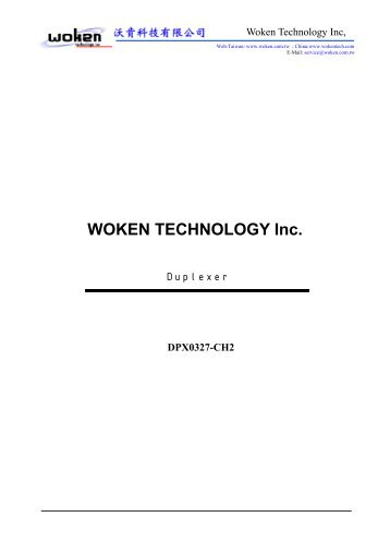 WOKEN TECHNOLOGY Inc.