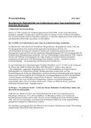 Pressemitteilung zur Ausfällung von radioaktiven Stoffen in ...
