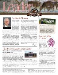 Issue 1, 2013 - Carolina Farm Credit