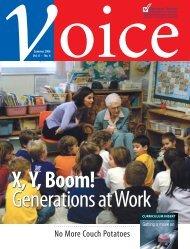 Summer 2006 - The member magazine of the Elementary Teachers