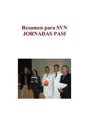 Resumen para SVN - Sociedad Valenciana de Neurología