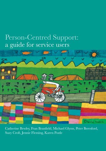 Person-Centred Support: a guide for service users - Shaping Our Lives
