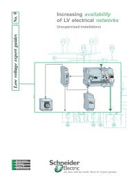 Increasing availability of LV electrical networks - OPS Schneider ...