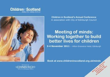 Meeting of minds: Working together to build better lives ... - Dublin.ie