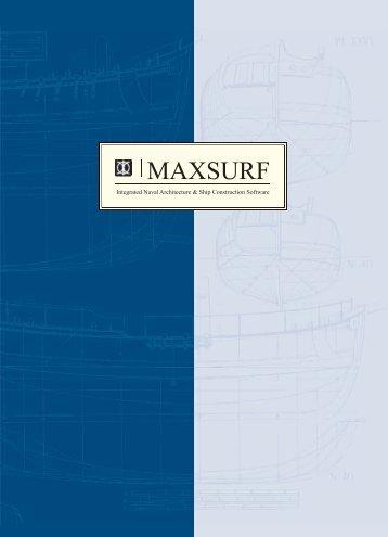 MAXSURF - InterCAD Systems Pvt. Ltd.