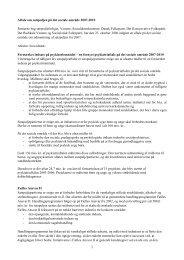 Aftale om satspuljen på det sociale område 2007-2010 Partierne ...