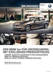 BMW 5er GRAN TURISMO. PREMIUM PACKAGE. - BMW ...