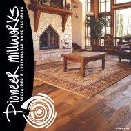 Settlers' Plank - Pioneer Millworks