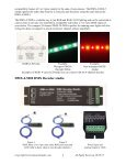 Studio DMX Decoder Information - EnvironmentalLights.com - Page 2
